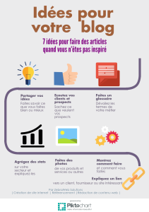 infographie 7 idées blog